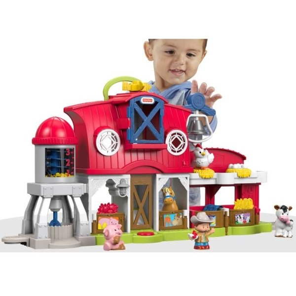 Fisher Price Little People, Caring for Animals Farm multifärg