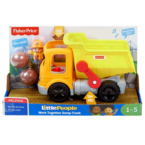 Fisher-Price, Little People - Dumper-Leksak Multifärg