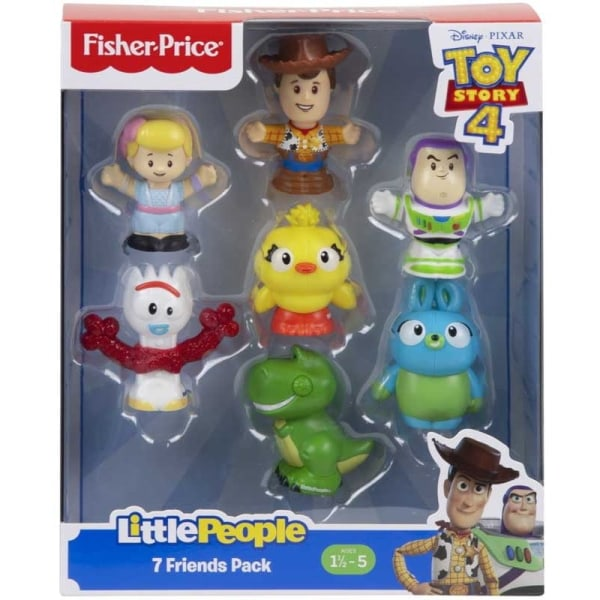 Fisher Price, Toy Story 4 - 7x Figurer Multifärg