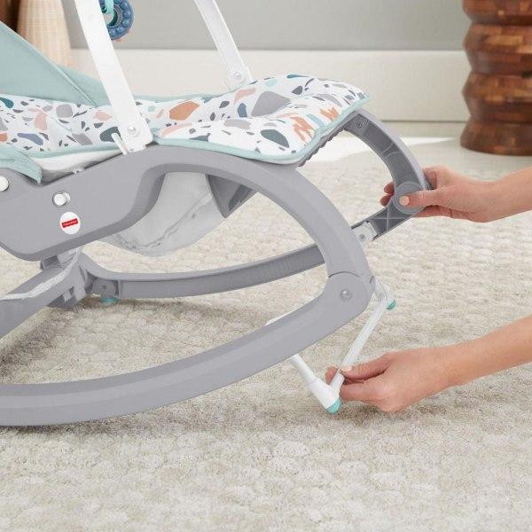 Fisher-Price, Vibrerande Babysitter - Grå Multifärg