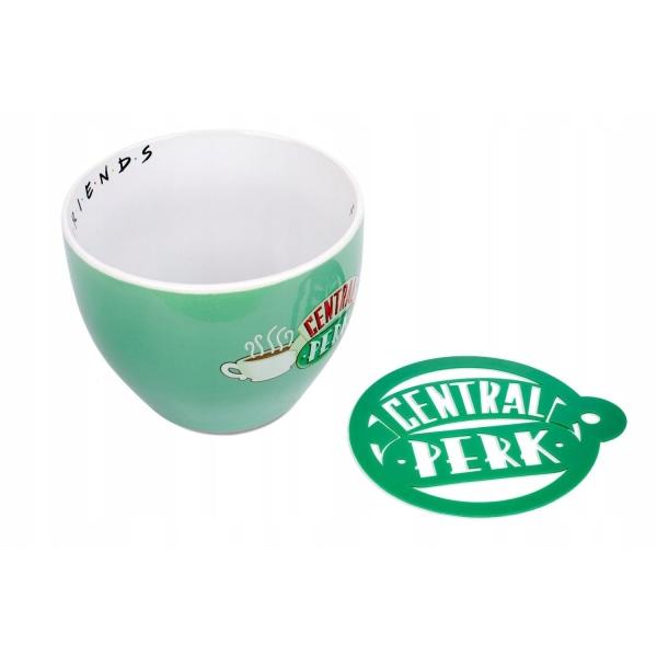 Friends / Vänner, Cappuccino mugg - Central Perk Grön