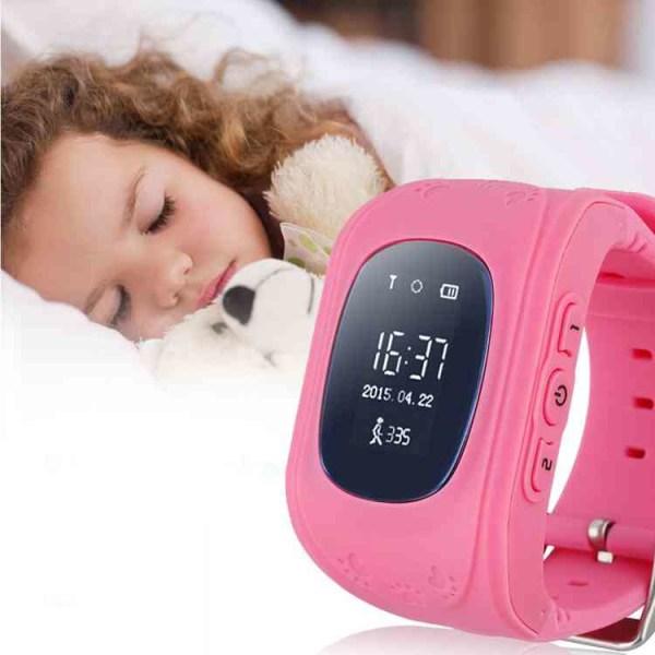 GPS Smartklocka för Barn - Rosa Rosa one size