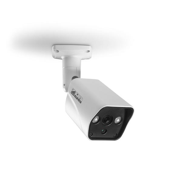 HD Kula Övervakningskamera IP66 Vit Vit