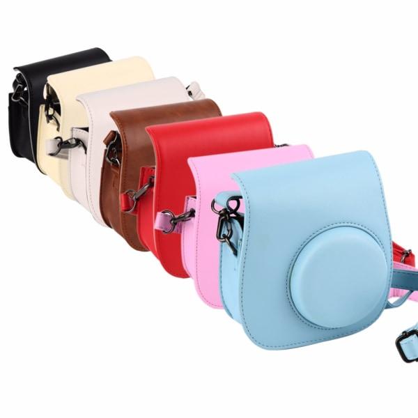 Kameraväska för Fujifilm Instax Mini 8 Vit