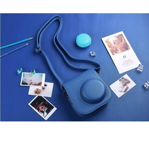 Kameraväska till Fujifilm Instax Mini 9/8/8+, Cobalt Blue Blå