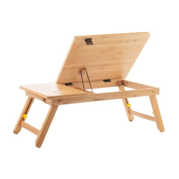 Laptopbord i Bambu Brun