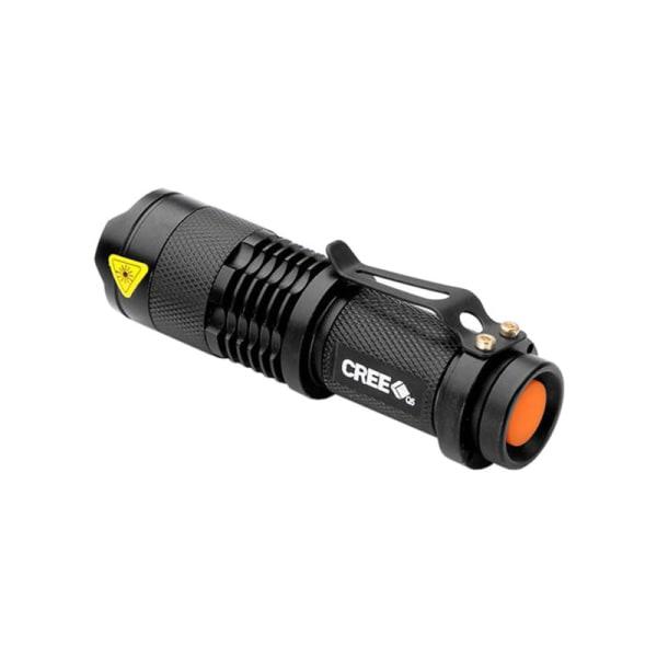 LED Ficklampa CREE Ultrafire - Svart Svart