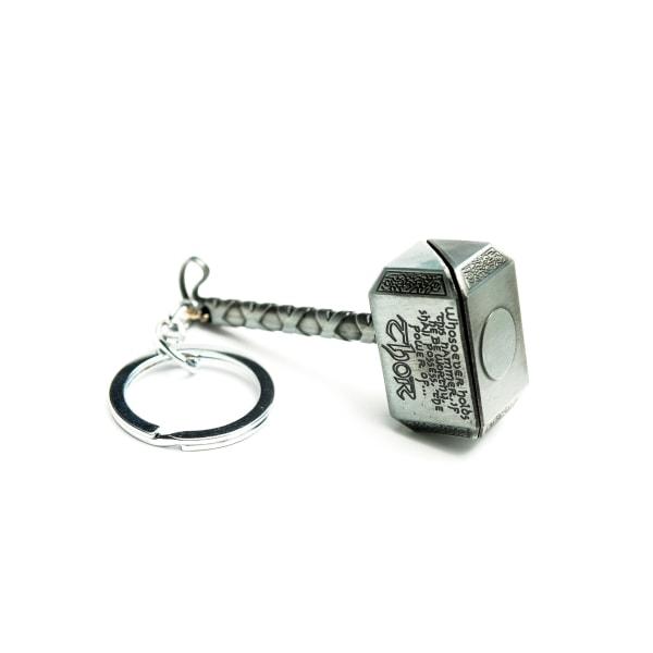 Marvel Thor's Hammer, Nyckelring - Silver Silver