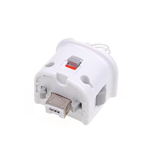 Motion Plus Adapter för Nintendo Wii Remote - Vit Vit