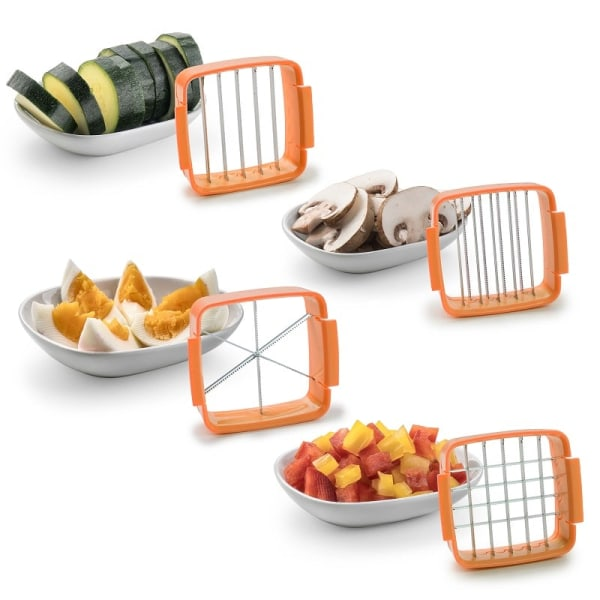 Nicer Dicer Quick - Multifunktionell Grönsaksskärare - Orange Orange