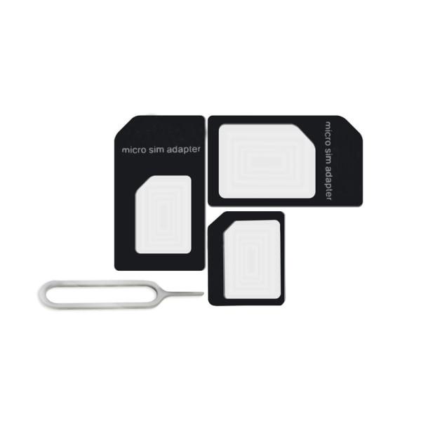 Noosy SIM-kort konverterare för Nano SIM-kort Vit