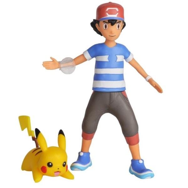 Pokémon, Ash och Pikachu - Battle Figures multifärg