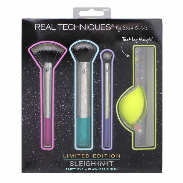 Real Techniques Limited Edition Sleigh-In-It Sminkborstset multifärg