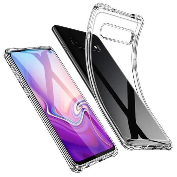 Samsung Galaxy S10 Plus - Transparent mobilskal Transparent