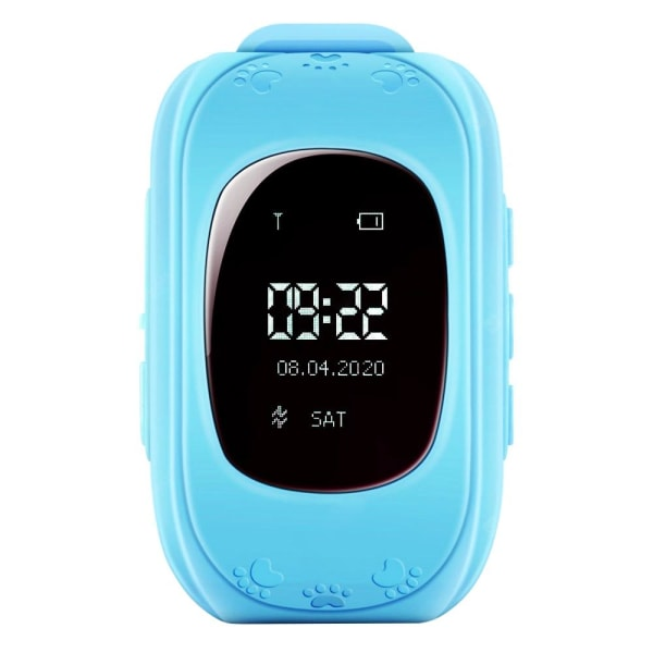 Smartklocka för Barn med GPS - Blå Blå