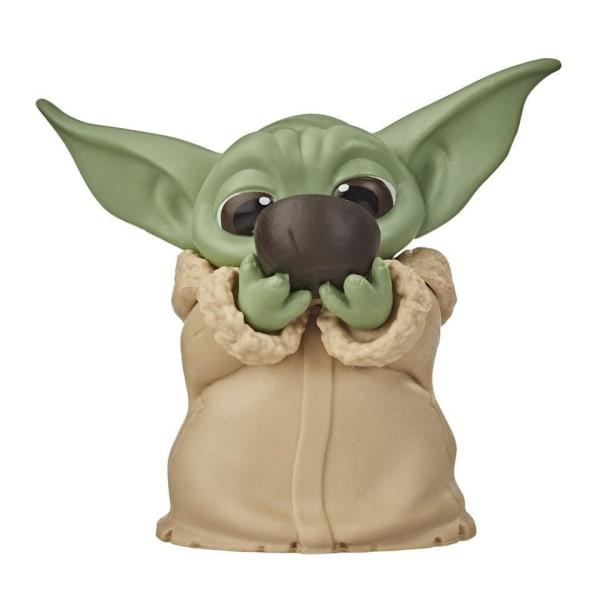 The Mandalorian, 2x Baby Yoda Figurer - Nr. 2 multifärg