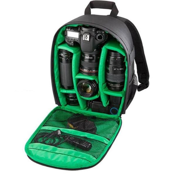 Vädertålig Kameraväska för Nikon, Canon, Sony, m.fl. Svart