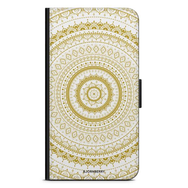 Bjornberry Fodral Huawei Mate 10 Lite - White Gold Mandala