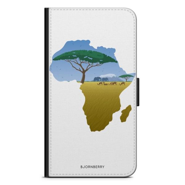 Bjornberry Fodral Huawei P Smart (2018) - Afrika Vit