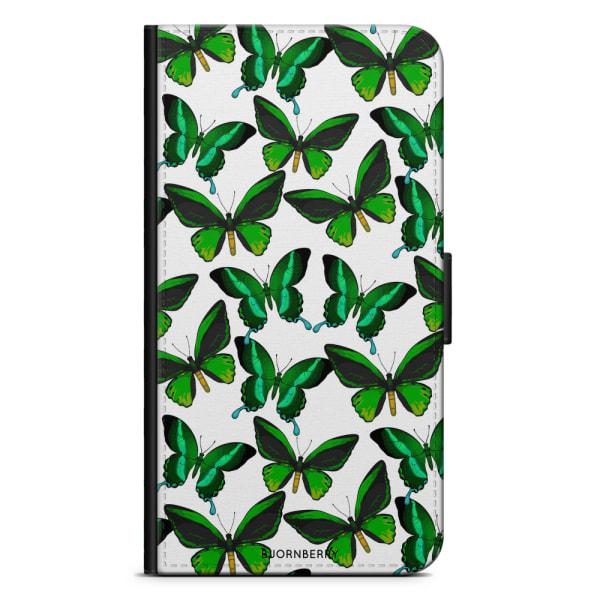 Bjornberry Fodral Huawei P Smart (2018) - Fjärilar