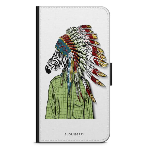Bjornberry Fodral Huawei P Smart (2018) - Hipster Zebra