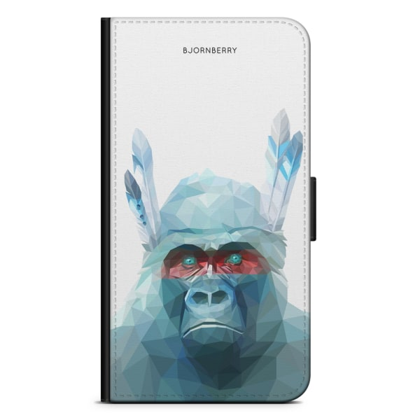 Bjornberry Fodral Huawei P Smart (2019) - Färgglad Gorilla