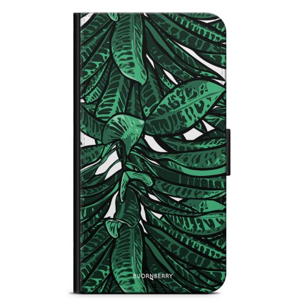 Bjornberry Fodral Motorola Moto G5S Plus - Tropiska Löv