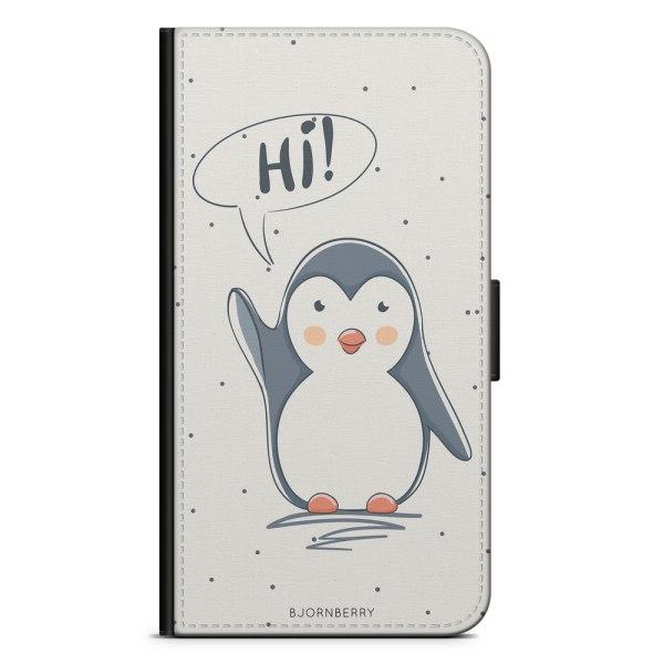 Bjornberry Fodral Motorola Moto G6 Play - Söt Pingvin