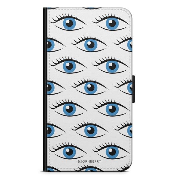 Bjornberry Fodral Motorola Moto G6 Plus - Blå Ögon