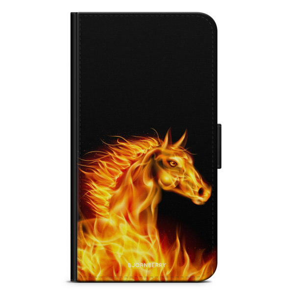 Bjornberry Fodral Motorola Moto G6 Plus - Flames Horse