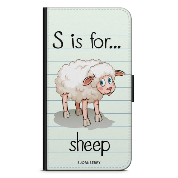 Bjornberry Fodral Motorola Moto G6 Plus - S is for Sheep