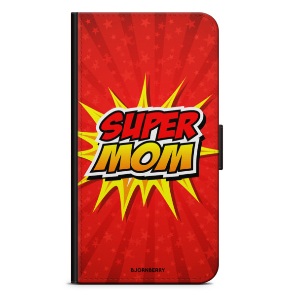 Bjornberry Fodral Motorola Moto G6 Plus - Super mom