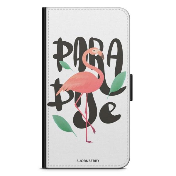 Bjornberry Fodral Motorola Moto G7 Plus - Paradise Flamingo
