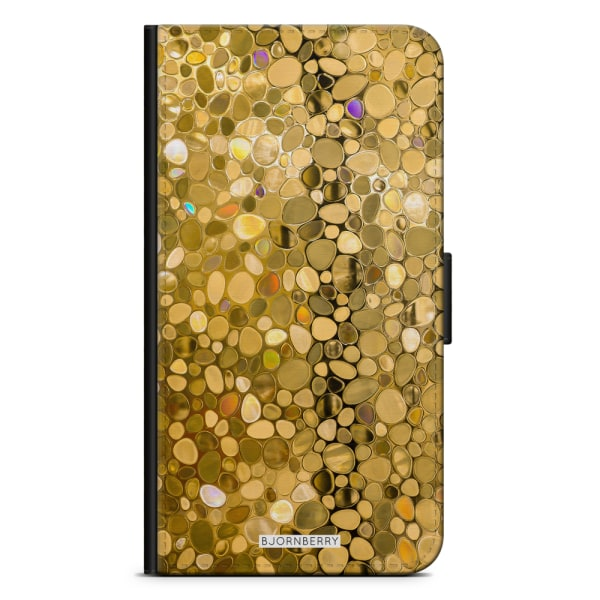 Bjornberry Fodral Samsung Galaxy A20e - Stained Glass Guld