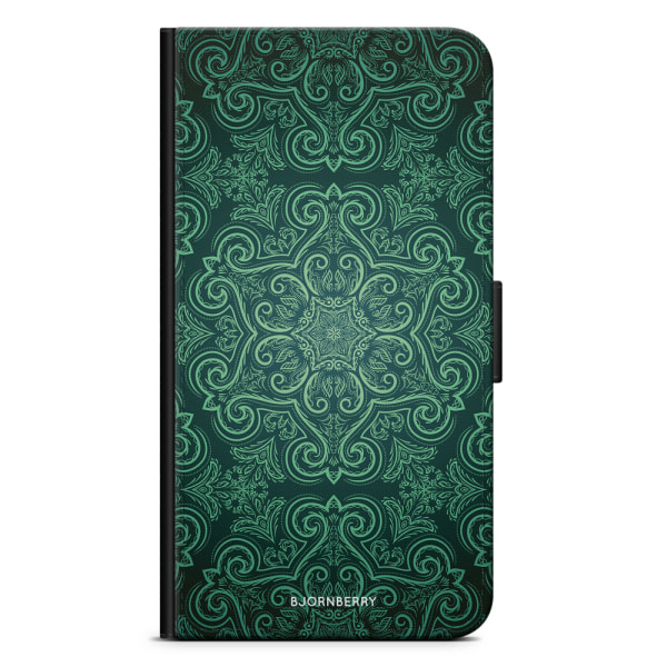 Bjornberry Fodral Samsung Galaxy A21s - Grön Retromönster