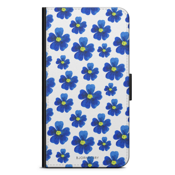 Bjornberry Fodral Samsung Galaxy A5 (2016)- Blå Blommor