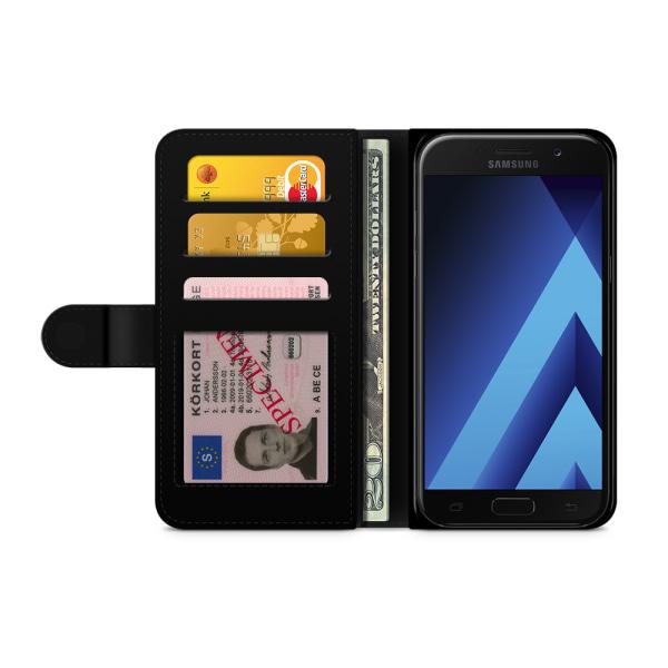 Bjornberry Fodral Samsung Galaxy A5 (2017)- Mustascher
