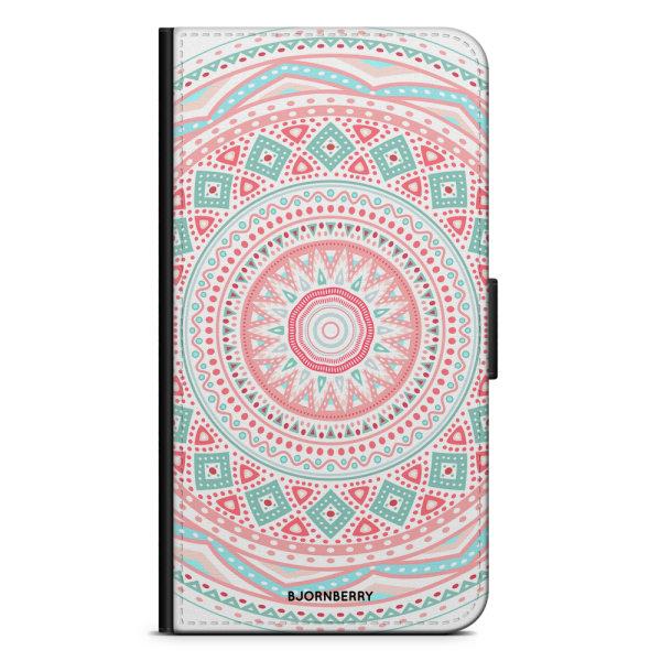 Bjornberry Fodral Samsung Galaxy A6+ (2018)-Pastell Mandala