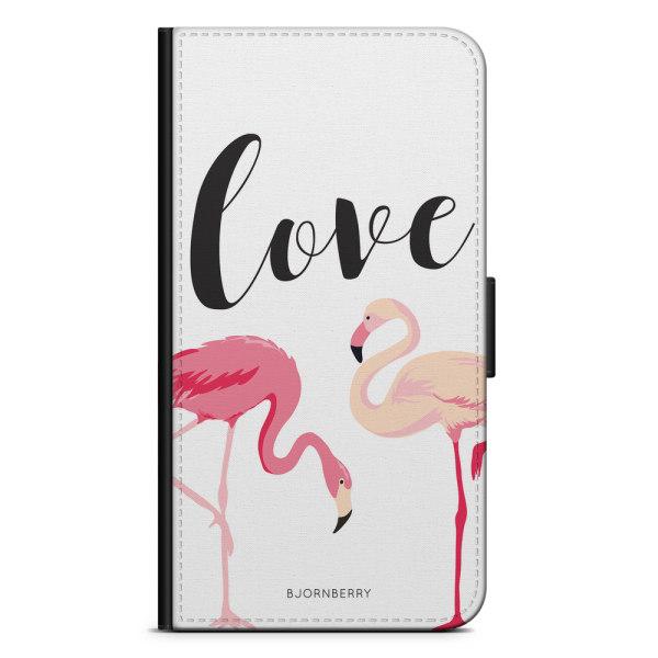 Bjornberry Fodral Samsung Galaxy Ace 4 - Love Flamingo