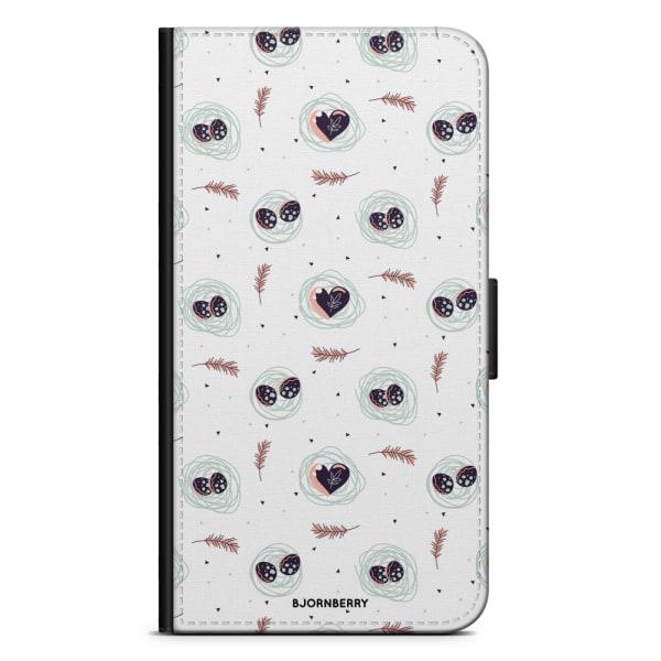 Bjornberry Fodral Samsung Galaxy Alpha - Ägg och Hjärtan