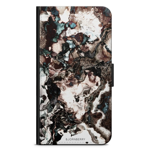 Bjornberry Fodral Samsung Galaxy Alpha - Brun Marmor