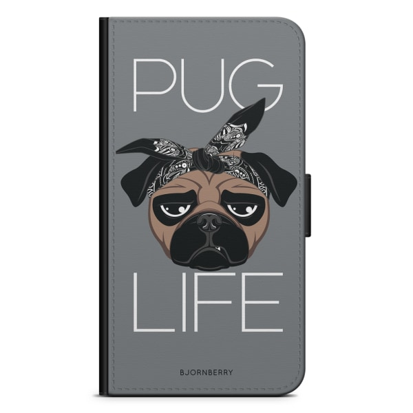 Bjornberry Fodral Samsung Galaxy Alpha - Pug Life