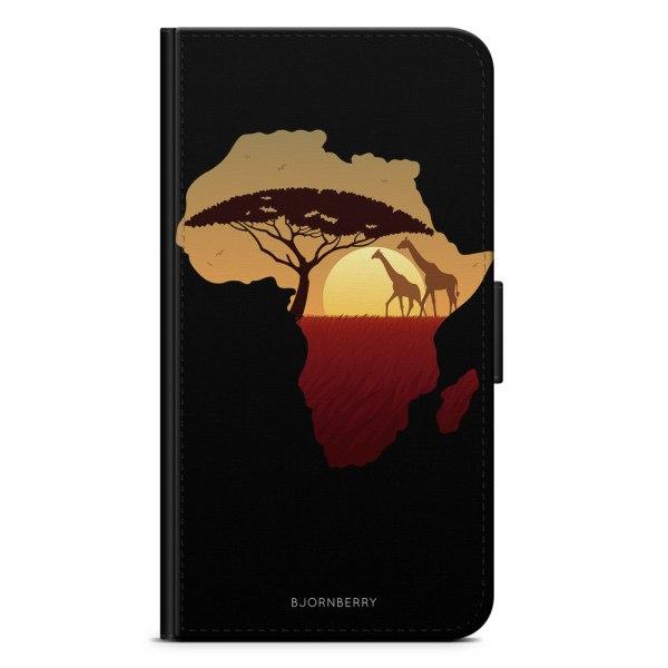 Bjornberry Fodral Samsung Galaxy Core Prime-Afrika Svart
