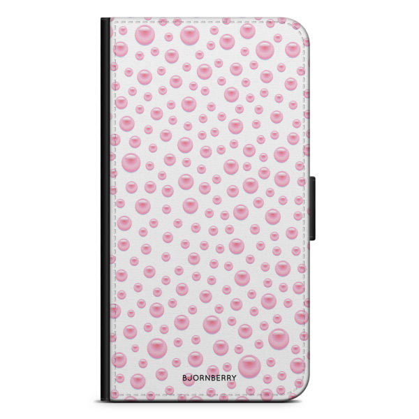 Bjornberry Fodral Samsung Galaxy Core Prime-Rosa Pärlor