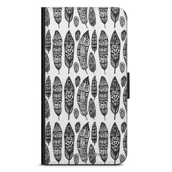 Bjornberry Fodral Samsung Galaxy Core Prime-Vintage Feathers