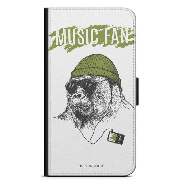 Bjornberry Fodral Samsung Galaxy J3 (2016)- Music fan