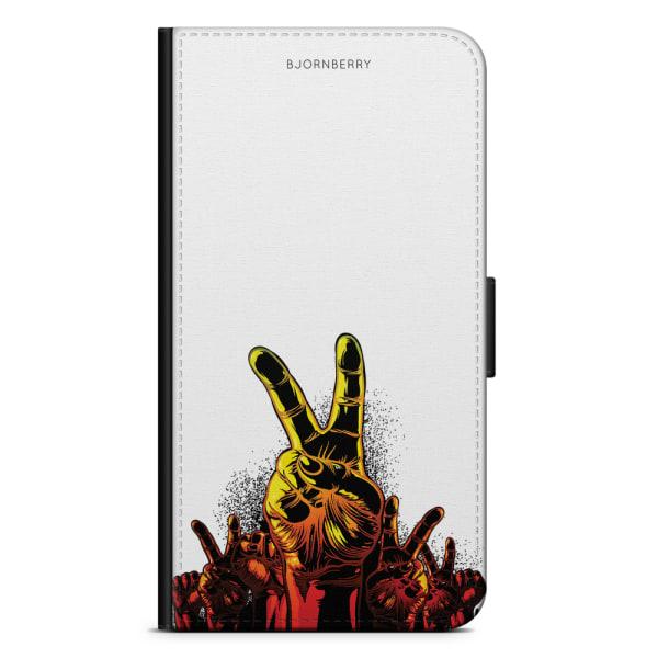 Bjornberry Fodral Samsung Galaxy J3 (2016)- Peace Händer