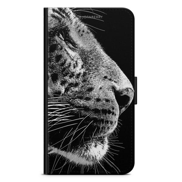 Bjornberry Fodral Samsung Galaxy J3 (2017)- Leopard Ansikte