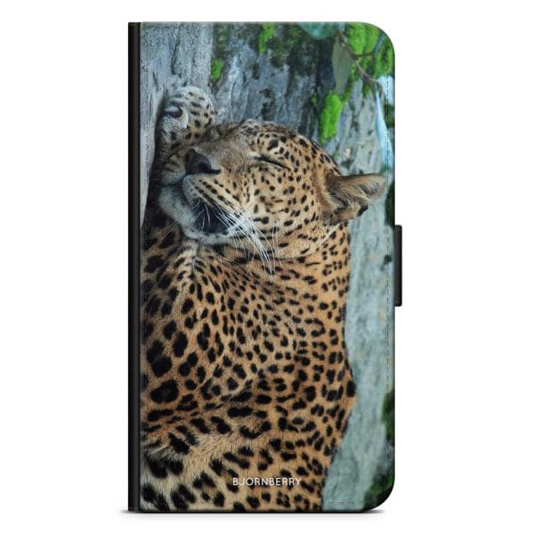Bjornberry Fodral Samsung Galaxy J4 Plus - Sovande Leopard