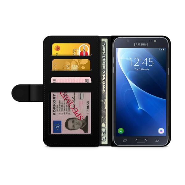 Bjornberry Fodral Samsung Galaxy J5 (2016)- Blommigt Mönster